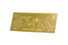 Dinheiro do ouro Fotografia de Stock