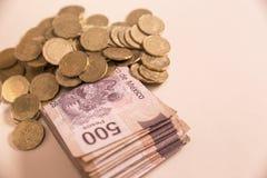 Dinheiro do peso mexicano foto de stock royalty free