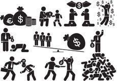 Dinheiro do poder ilustração royalty free