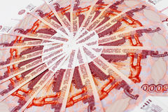 Dinheiro do russo Imagens de Stock