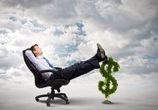 Dinheiro do salário Imagens de Stock