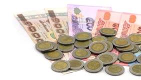 Dinheiro do THB Fotos de Stock