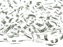 Dinheiro do vôo (dólar) Fotos de Stock