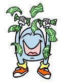 Dinheiro do vencedor Imagens de Stock Royalty Free