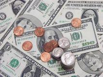 Dinheiro duro Fotografia de Stock