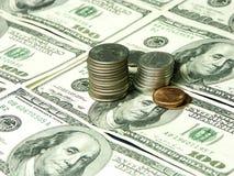 Dinheiro duro Foto de Stock Royalty Free