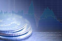 Dinheiro e análise de investimento fotografia de stock