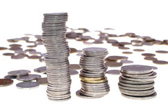 Dinheiro e cartão Fotos de Stock Royalty Free