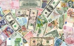 Dinheiro e dinheiro Imagens de Stock