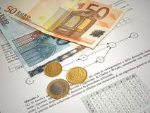Dinheiro e finança Fotografia de Stock