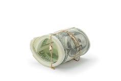 Dinheiro e ouro Fotos de Stock Royalty Free