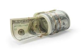 Dinheiro e ouro Fotos de Stock