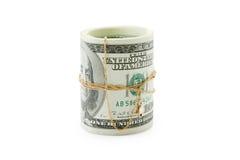 Dinheiro e ouro Imagens de Stock