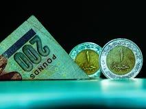 Dinheiro egípcio foto de stock royalty free