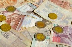 Dinheiro egípcio Fotos de Stock