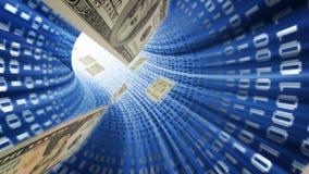 Dinheiro eletrónico ilustração do vetor