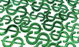 Dinheiro Emerald Background Fotos de Stock
