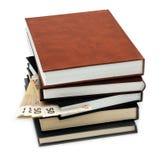 Dinheiro escondido em um livro Fotos de Stock