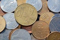 Dinheiro eslovaco Fotografia de Stock Royalty Free