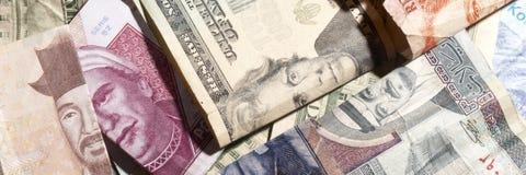 Dinheiro estrangeiro imagem de stock