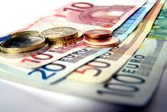 Dinheiro: Euro Foto de Stock