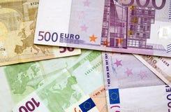 Dinheiro europeu Imagem de Stock Royalty Free