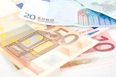 Dinheiro europeu Fotos de Stock