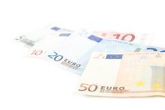 Dinheiro europeu Foto de Stock