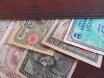 Dinheiro extrangeiro imagem de stock royalty free