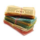 Dinheiro falsificado imagens de stock