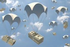 Dinheiro fácil Imagem de Stock