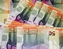 Dinheiro forjado Imagens de Stock