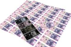Dinheiro forjado Imagens de Stock Royalty Free