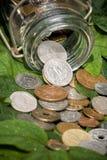 Dinheiro fresco Fotografia de Stock