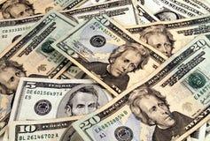 Dinheiro frio duro Fotos de Stock