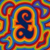 Dinheiro Groovy - Sterling do arco-íris Imagem de Stock Royalty Free