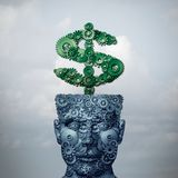 Dinheiro inteligente ilustração royalty free