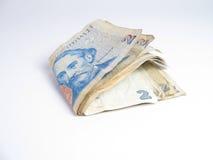 Dinheiro isolado de Argentina Fotos de Stock Royalty Free