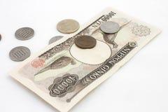 Dinheiro japonês Foto de Stock