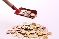 Dinheiro a jogar com Imagens de Stock Royalty Free