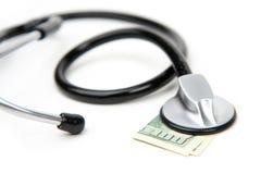 Dinheiro médico Foto de Stock Royalty Free