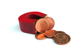 Dinheiro magnético Foto de Stock Royalty Free