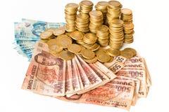 Dinheiro mexicano Fotos de Stock