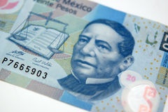 Dinheiro mexicano Imagem de Stock Royalty Free