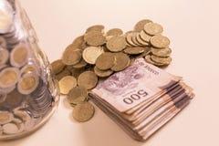 Dinheiro mexicano foto de stock
