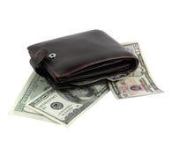 Dinheiro na mão Fotografia de Stock