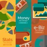Dinheiro, negócio, conceitos do comércio eletrônico Imagem de Stock Royalty Free