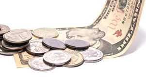 Dinheiro no dólar Fotos de Stock Royalty Free