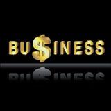 Dinheiro no negócio ilustração royalty free