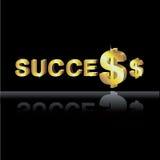 Dinheiro no negócio Foto de Stock Royalty Free